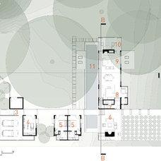 Contemporary Site And Landscape Plan Houzz Tour: