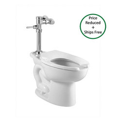 "American Standard - American Standard 3461.001.020 White Madera Madera One-Piece Elongated - Madera One-Piece Elongated Toilet with Right Height BowlAmerican Standard 3461.001 Features:Right Height elongated bowlFully glazed 2-1/8"" trapwayElongated syphon jetted bowl10"" (254mm) rough-in16-1/2"" bowl rim heightAmerican Standard 3461.001 Nominal Dimensions:28.25"" D x 14"" W x 16.5"" H (717.55mm D x 355.6mm W x 419.1mm H)American Standard truly is an American Brand to the core. Originally founded in 1872, American Standard began under the name Standard Manufacturing Company, and has played a role in some of our Countries biggest achievements over the years. They have continually manufactured and designed products such as toilets, faucets, sinks that are not only high quality and durable, but are functional, and range from the most classic, traditional designs all the way to the most modern styles you can imagine. When you choose American Standard you are supporting a great American Company and choosing products that are made right, at reasonable prices."