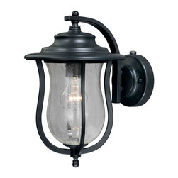 Vaxcel - Corsica Oil Rubbed Bronze Outdoor Wall Sconce - Vaxcel T0007 Corsica Oil Rubbed Bronze Outdoor Wall Sconce