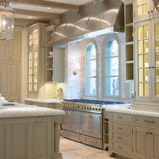 Mediterranean Kitchen Cabinetry by Mobili Martini