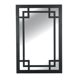 Kenroy Home - Kenroy Home 60097 42 Inch Height 28 Inch Width Rectangular Wall Mirror - 42 Inch Height 28 Inch Width Rectangular Wall Mirror from the Jacob CollectionDark Bronze Wall Mirror is Perfect for Modern or Contemporary decorating from the Jacob Collection. This straight lined frame will make a striking statement on any wall.Kenroy Mirrors utilize a wide variety of materials, and create artistic elements that complement your home furnishings as well as make their own statements. Look to Kenroy Home for the finest in decor, performance and value.Features: