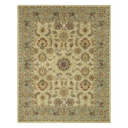 """Loloi Rugs - Hand Tufted Maple Traditional Rug MAPLMP-25BEGR - 2'-0"""" x 3'-0"""" - Transform your home into a manor steeped in elegance and tradition with the majestic Maple Collection. These timeless Persian designs carry the rich heritage of centuries of carpet making in each arabesque, stylized flower and intricate border. Maple Collection rugs are hand-tufted in India of 100-percent wool so they are eco-friendly and mindfully crafted with sustainable materials. With colors as rich as these, you will feel like nobility every time you walk into your home."""