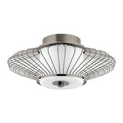 Globe Electric - Globe Electric 63570 Decor 2 Light Semi Flush Ceiling Fixture - Features: