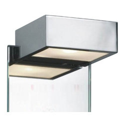 "Decor Walther - Decor Walther Box 1-15 Mirror Clip Lamp - The Box 1-15 mirror clip lamp  has been designed and made by Decor Walther.   The modern mirror clip lamp Box 1-15 by Decor Walther convinces  with   modern and reduced design, making it a good fit for all kinds of    interiors. The lamp has a box shaped structure available in the versions    chrome, satined nickel or matt silver. The structure is opened at the    underside, therefore Box creates a direct illumination. The lamp is    filtered and evenly diffused by an opal glass diffuser. Box 1-15 can be    easily installed by simply clipping it to the mirror.  Product Details:  The Box 1-15 mirror clip lamp  has been designed and made by Decor Walther.  The modern mirror clip lamp Box 1-15 by Decor Walther convinces  with  modern and reduced design, making it a good fit for all kinds of   interiors. The lamp has a box shaped structure available in the versions   chrome, satined nickel or matt silver. The structure is opened at the   underside, therefore Box creates a direct illumination. The lamp is   filtered and evenly diffused by an opal glass diffuser. Box 1-15 can be   easily installed by simply clipping it to the mirror. Details:                                     Manufacturer:                                      Decor Walther                                                                  Designer:                                     In House Design                                                                  Made in:                                     Germany                                                                  Dimensions:                                      Width: 5.91"" (15 cm cm) X Depth: 3.94"" (10 cm) X Height: 1.97"" (5 cm)                                                                  Light bulb:                                      1 x R7s Max 100W Halogen                                                                  Material:                                      Metal"
