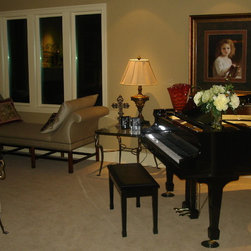 staging & furnished by vickie town -