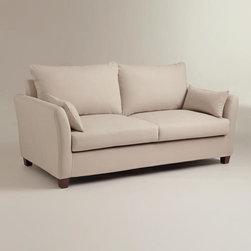 Stone Luxe Sofa Slipcover -