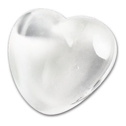 Kito - 2 3/4 Inch Small Heart Shaped Crystal Paperweight, In Clear Tone - This gorgeous 2 3/4 Inch Small Heart Shaped Crystal Paperweight, In Clear Tone has the finest details and highest quality you will find anywhere! 2 3/4 Inch Small Heart Shaped Crystal Paperweight, In Clear Tone is truly remarkable.