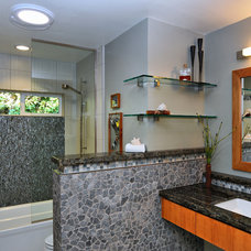 Contemporary Bathroom by Lars Remodeling & Design
