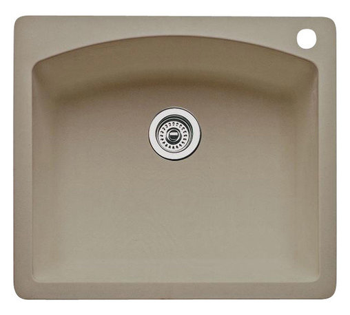Blanco - Blanco Diamond Single Bowl - Color is an expression of your style and the ultra-durable surface of our single bowl sink is a reflection of our unsurpassed quality. This design makes a wonderful addition to your island, butler s pantry or as a complementary second sink.