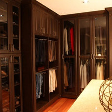 Traditional Closet by Melissa Jane Designs for California Closets