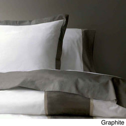 Marc Thee Home Taylor Collection 350 Thread Count Twill Weave Cotton Duvet Cover -