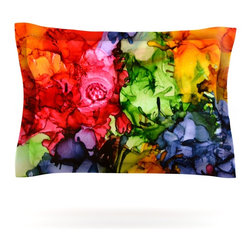 "Kess InHouse - Claire Day ""Teacher's Pet II"" Pillow Sham (Cotton, 40"" x 20"") - Pairing your already chic duvet cover with playful pillow shams is the perfect way to tie your bedroom together. There are endless possibilities to feed your artistic palette with these imaginative pillow shams. It will looks so elegant you won't want ruin the masterpiece you have created when you go to bed. Not only are these pillow shams nice to look at they are also made from a high quality cotton blend. They are so soft that they will elevate your sleep up to level that is beyond Cloud 9. We always print our goods with the highest quality printing process in order to maintain the integrity of the art that you are adeptly displaying. This means that you won't have to worry about your art fading or your sham loosing it's freshness."