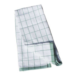 e-cloth - e-cloth Kitchen Towel , Classic Check Green - When there's a Cleaning task to be done in the kitchen, you only need one Cleaning cloth at your disposal,,the e-cloth Kitchen Towel in Classic Check Green!