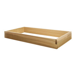 All Things Cedar - All Things Cedar RG48U 4ft. Single Raised Garden Earth Box - Our stackable raised bed system is the answer to the growing urban gardening trend. Can be set up anywhere in just minutes. As your gardening skills, increase our system easily expands to meet your needs. Combine different sized kits to create your own custom design/size planter bed. Use indoors and outdoors.    Dimensions:   48 x 24 x 5.5 in. (w x d x h)
