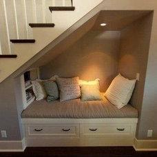 Basement cozy nook