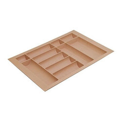 Hafele - 28 in. Cutlery Tray - Can be trimmed to fit drawer.
