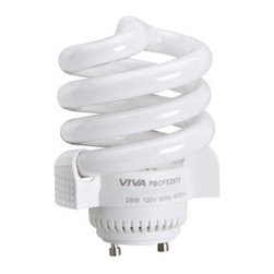 Hunter - Hunter 26-Watt (100W) Household GU24 Energy Saving Light Bulb 22067 - Shop for Electrical at The Home Depot. Energy saving is an enormous goal in any household. The GU24 bulb is a replacement bulb to GU24 light fixtures and ceiling fans. This is a CFL that provides excellent light output.