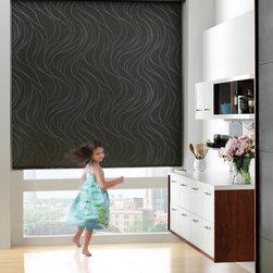 Designer Roller Screen Shades - Saint Charles - Hunter Douglas® Designer Roller Shades are perfect for big picture windows!