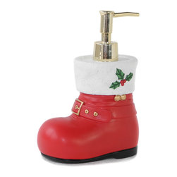 Dream Bath - Dream Bath Christmas Shoes Soap Dispenser/Lotion Dispenser - Dream Bath focuses exclusively on the design and creation of exquisite and practical accessories.