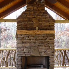 Traditional Fire Pits by Native Custom Stone