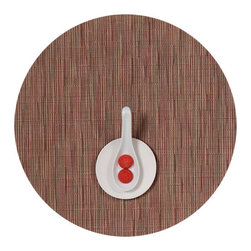 Chilewich - Chilewich Bamboo - Round Placemat - Set of 4 - Chilewich - Sold as set of 4.