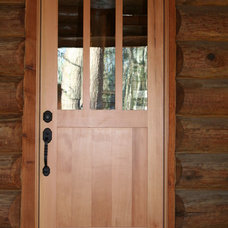 Traditional Front Doors by Turtle River Millwork