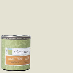 Inspired Flat Interior Paint, Bisque .03, Quart - Colorhouse paints are zero VOC, low-odor, Green Wise Gold certified and have superior coverage and durability. Our artist-crafted colors are designed to be easy backdrops for living. Colorhouse paints are 100% acrylic with no VOCs (volatile organic compounds), no toxic fumes/HAPs-free, no reproductive toxins, and no chemical solvents.