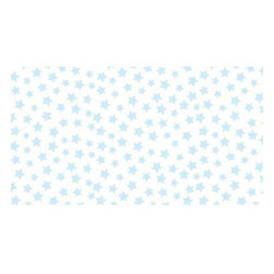 "SheetWorld - SheetWorld Fitted Oval Crib Sheet (Stokke Sleepi) - Pastel Blue Stars Woven - This luxurious 100% cotton ""woven"" oval crib (stokke sleepi) sheet features a pastel blue stars print. Our sheets are made of the highest quality fabric that's measured at a 280 tc. That means these sheets are soft and durable. Sheets are made with deep pockets and are elasticized around the entire edge which prevents it from slipping off the mattress, thereby keeping your baby safe. These sheets are so durable that they will last all through your baby's growing years. We're called SheetWorld because we produce the highest grade sheets on the market today. Size: 26 x 47."