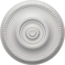 Ceiling Lighting Ekena 20-5/8 in. Raynor Ceiling Medallion-CM20BE at The Home Depot