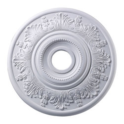 ELK Lighting - ELK Lighting M1004WH Laureldale Lighting Accessories in White - This Medallion from the Laureldale collection by ELK will enhance your home with a perfect mix of form and function. The features include a White finish applied by experts. This item qualifies for free shipping!