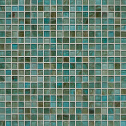 Mantra Square Mosaic in Sari Blue Gloss - MANTRA