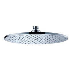 Hansgrohe - Hansgrohe-28420001 Raindance Royal 350 AIR Shower Head in Chrome - Hansgrohe-28420001 Raindance Royal 350 AIR Shower Head in ChromeAs one of the leading international manufacturers of plumbing products, Hansgrohe represents innovation, design, quality and showering pleasure at the highest level. From a simple handshower to a luxurious, oversized showerhead–Hansgrohe has everything you could wish for in a shower. Hansgrohe shower products provide you with the ultimate in design, functionality and quality, leading to performance and styles that will please even the most discerning bather. Rediscover water– as a source of relaxation in a soothing, warm rain shower or with an invigorating whirl-air massage. No matter what you want, you will find countless possibilities for your showering oasis with Hansgrohe.Raindance S Showerheads. A heavenly shower experience. An expansive choice of finishes. A soothing rain shower, cascading down onto your head and shoulders – oversized Raindance S AIR showerheads envelop your body