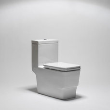 contemporary toilets by Blu Bathworks