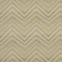 Beige Tan And Taupe Chevron Indoor Outdoor Upholstery Fabric By The Yard - P503010 is great for residential and commercial applications, and can be used outdoors and indoors. This fabric will exceed at least 35,000 double rubs (15,000 is considered heavy duty), and is easy to clean and maintain. In addition, this product is stain, water, mildew, bacteria and fade resistant. For superior quality and performance, this fabric is woven and solution dyed.