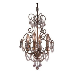 Mini Crystal Chandelier No. 3129 by Minka-Lavery -