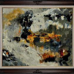 overstockArt.com - Ledent - Abstract 88211131 Oil Painting - Canvas print of an abstract painting that is originally acryl on canvas stretched on a wooden frame. Original size is 31,5 x 31,5 inches. Pol Ledent was born in 1952 in Belgium. He came to painting in 1989. He started with watercolor but felt rapidly that oil painting would match his way of being. He is a self-taught painter. Nevertheless he took some drawing lessons in a Belgian academy. After taking part into numerous group exhibitions, some galleries in Belgium proposed to him to exhibit his works. Dinant, Bouillon, Brussels , Paris and Moscow in October 2006.