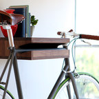 The Bike Shelf - For city dwellers who ride bikes, this shelf is a perfect way to store your wheels in style. While I'm neither a city dweller nor a bike rider, this product makes me want to become both.