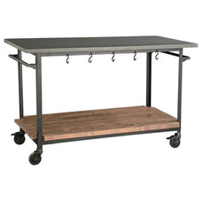 Traditional Kitchen Islands And Kitchen Carts by Wisteria