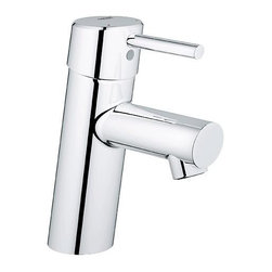 Grohe - Grohe Concetto Bathroom Faucet-Less Drain, Starlight Chrome (34271001) - Grohe 34271001 Concetto Bathroom Faucet-Less Drain, Starlight Chrome