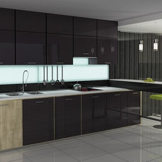 Contemporary Kitchen Cabinets by Cronos Design