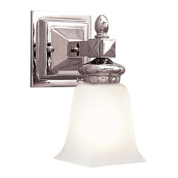 Hudson Valley Lighting - Hudson Valley Lighting 2821-PN Cumberland 1 Light Bathroom Vanity Lights in Poli - This 1 light Bath And Vanity from the Cumberland collection by Hudson Valley Lighting will enhance your home with a perfect mix of form and function. The features include a Polished Nickel finish applied by experts. This item qualifies for free shipping!