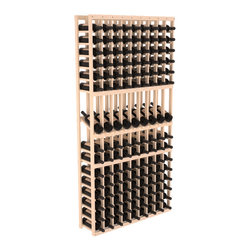 Wine Racks America - 9 Column Display Row Wine Cellar Kit in Pine, (Unstained) - We select from the highest grade materials available. Completely solid assembly retains strength while displaying 9 of your favorite bottles. We guarantee it will last. All the edges of our products are softened to ensure you won't get nicks or splinters, like you will from budget competition. You'll be satisfied. We guarantee that, too.