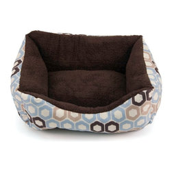 Brinkmann - Brinkmann Boxy Small Pet Bed - RR1418-570.1 - Shop for Beds Covers and Fill from Hayneedle.com! Your wee pup or cute cat fits perfectly in the Brinkmann Boxy Small Pet Bed. This 18-inch box bed is constructed with a super soft Microtec sleep surface and bolstered walls for added comfort and support. It's filled with recycled fiber fill and is conveniently machine washable. Color options available.