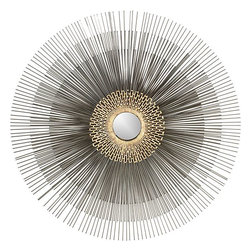 Starburst Wall Mirror - Here's an eclectic and sparkly wall mirror for you living room or bedroom.
