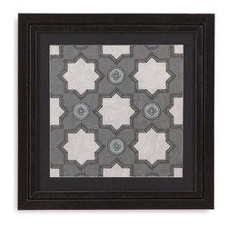 Bassett Mirror - Bassett Mirror Framed Under Glass Art, Caisson IV - Caisson IV