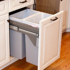 Traditional Kitchen Trash Cans by Kitchens by Design Inc.