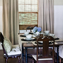 traditional dining room by The Lettered Cottage