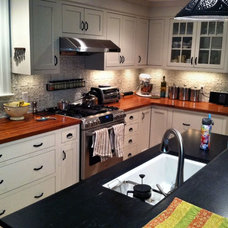 Traditional Kitchen by DeVos Custom Woodworking