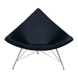 "IFN Modern - Coconut Chair Reproduction - Product DimensionsOverall Dimensions: 38.6"" H x 43.3\"" W x 31.1\"" DTop grain leather on all parts 