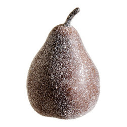 Silk Plants Direct - Silk Plants Direct Frosted Pear Ornament (Pack of 12) - Brown - Pack of 12. Silk Plants Direct specializes in manufacturing, design and supply of the most life-like, premium quality artificial plants, trees, flowers, arrangements, topiaries and containers for home, office and commercial use. Our Frosted Pear Ornament includes the following: